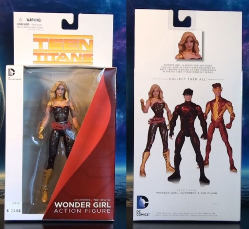 DC Collectibles Teen Titans Wonder Girl Action Figure 01