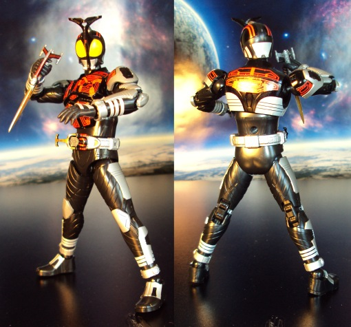 Bandai Figure-Rise Masked Rider Kabuto Model Kit 01