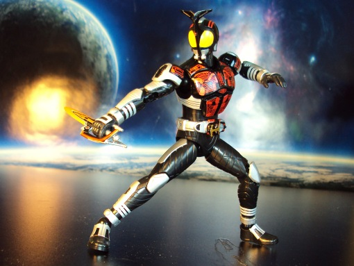 Bandai Figure-Rise Masked Rider Kabuto Model Kit 02