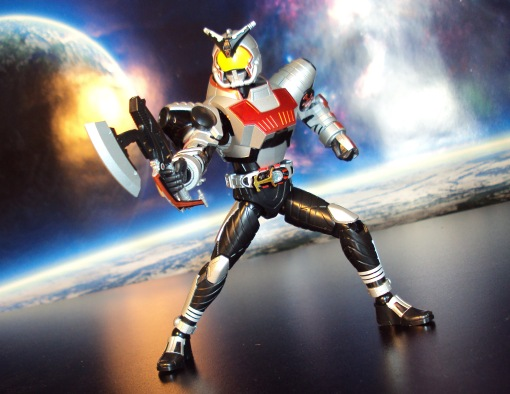 Bandai Figure-Rise Masked Rider Kabuto Model Kit 03