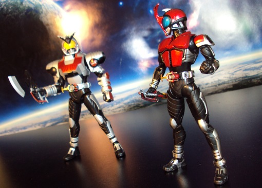 Bandai Figure-Rise Masked Rider Kabuto Model Kit 06