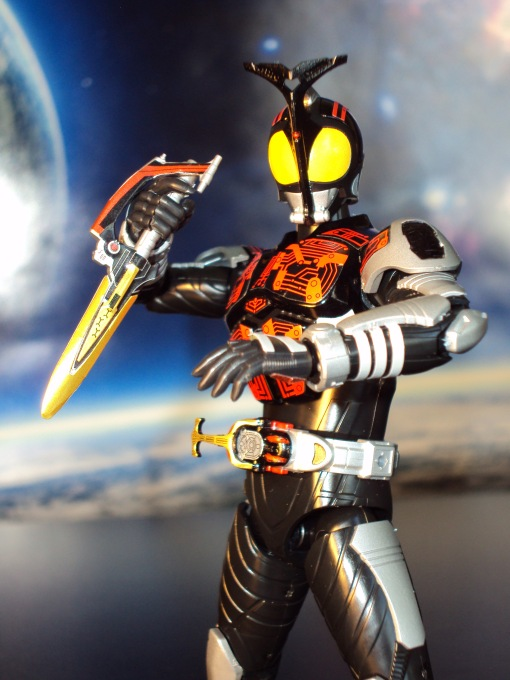 Bandai Figure-Rise Masked Rider Kabuto Model Kit 08