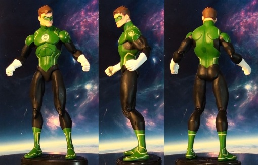 DC Collectibles Justice League War Green Lantern Action Figure 02