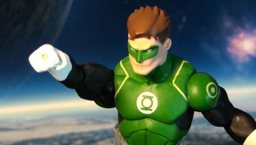 DC Collectibles Justice League War Green Lantern Action Figure 03