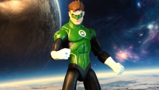 DC Collectibles Justice League War Green Lantern Action Figure 04