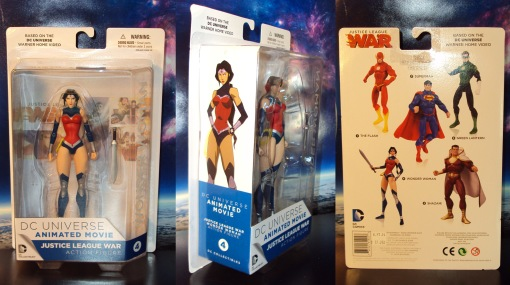 DC Collectibles Justice League War Wonder Woman Action Figure 01