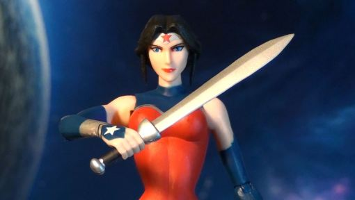 DC Collectibles Justice League War Wonder Woman Action Figure 03