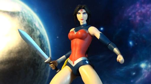 DC Collectibles Justice League War Wonder Woman Action Figure 04