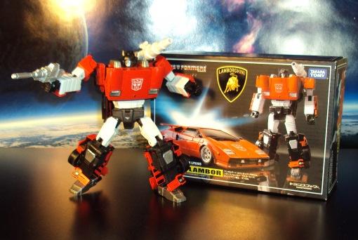 Takara Tomy Masterpiece Lambor Sideswipe Autobot Transformers
