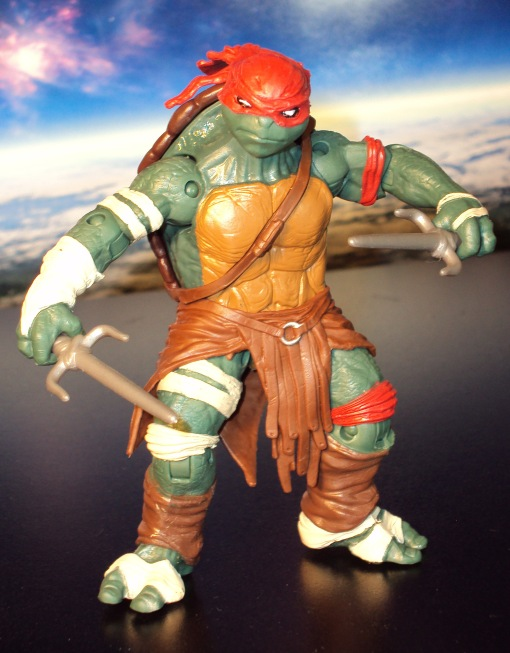 Teenage Mutant Ninja Turtles Raphael Movie 2014 Playmates