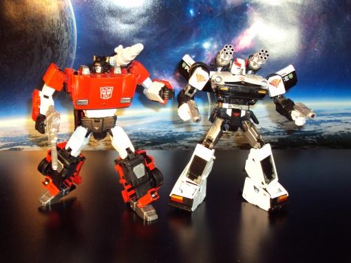 Transformers Masterpiece Lambor Sideswipe Prowl Autobot Takara Tomy