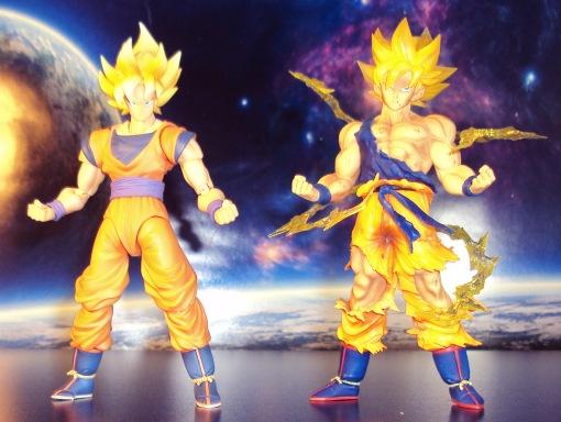 Bandai Figuarts Zero Dragon Ball Z Super Saiyan Son Gokou Statue 02