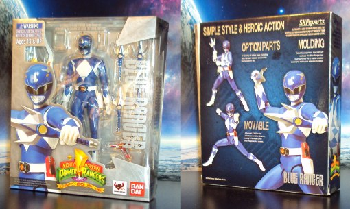 Bandai S.H. Figuarts Mighty Morphin Power Rangers Blue Ranger 01