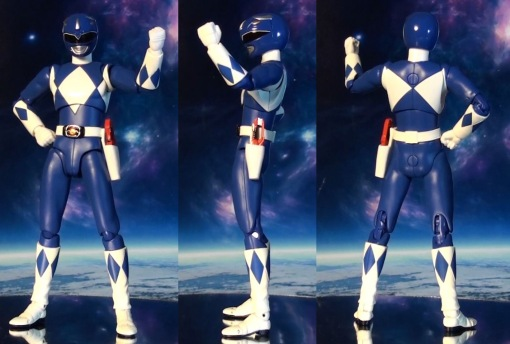 Bandai S.H. Figuarts Mighty Morphin Power Rangers Blue Ranger 02