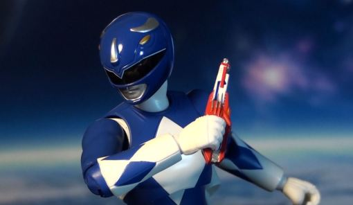Bandai S.H. Figuarts Mighty Morphin Power Rangers Blue Ranger 04