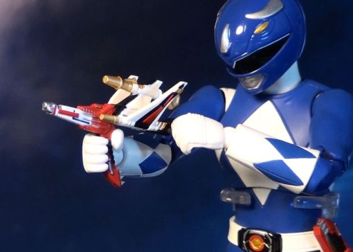 Bandai S.H. Figuarts Mighty Morphin Power Rangers Blue Ranger 05