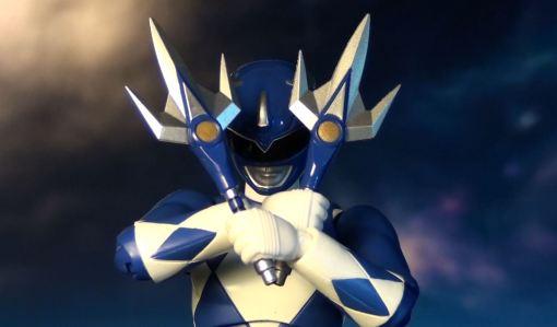 Bandai S.H. Figuarts Mighty Morphin Power Rangers Blue Ranger 06