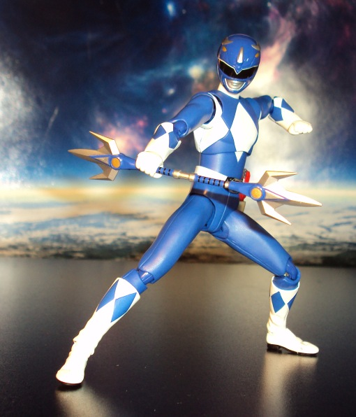 Bandai S.H. Figuarts Mighty Morphin Power Rangers Blue Ranger 07