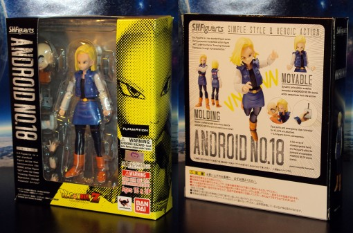 Bandai S.H. Figuarts Dragon Ball Z Android 18 01