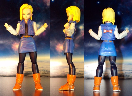 Bandai S.H. Figuarts Dragon Ball Z Android 18 02