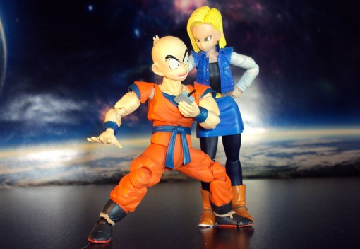Bandai S.H. Figuarts Dragon Ball Z Android 18 04