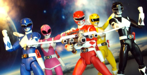 Bandai S.H. Figuarts Mighty Morphin Power Rangers Power Blaster 01