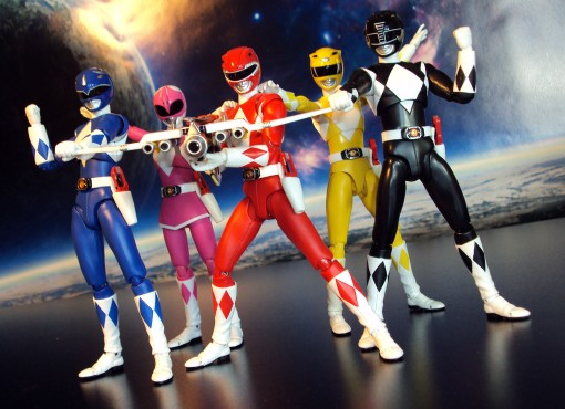 Bandai S.H. Figuarts Mighty Morphin Power Rangers Power Blaster 03
