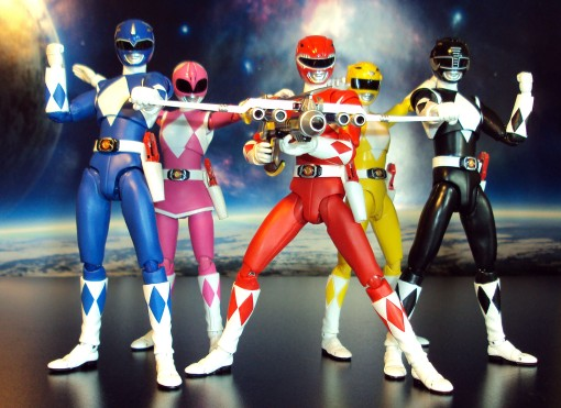 Bandai S.H. Figuarts Mighty Morphin Power Rangers Power Blaster 04