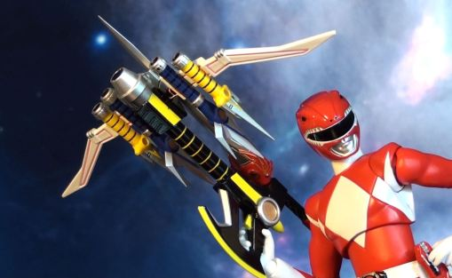 Bandai S.H. Figuarts Mighty Morphin Power Rangers Power Blaster 06