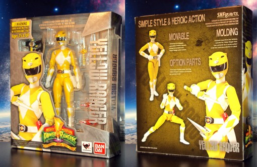 Bandai S.H. Figuarts Mighty Morphin Power Rangers Yellow Ranger 01
