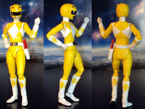 Bandai S.H. Figuarts Mighty Morphin Power Rangers Yellow Ranger 02