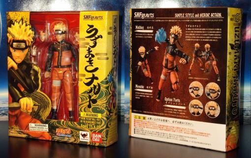 Bandai S.H. Figuarts Naruto Shippuden Uzumaki Naruto 01