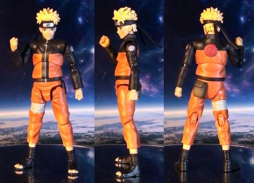 Bandai S.H. Figuarts Naruto Shippuden Uzumaki Naruto 02