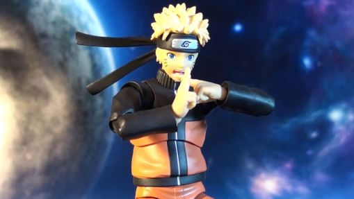 Bandai S.H. Figuarts Naruto Shippuden Uzumaki Naruto 03