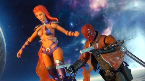 DC Collectible Red Hood and the Outlaws Starfire 04