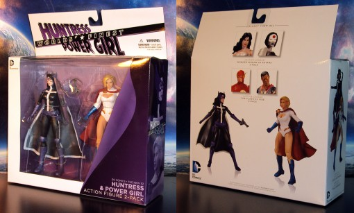 DC Collectibles New 52 Worlds' Finest Huntress Power Girl 2-Pack 01