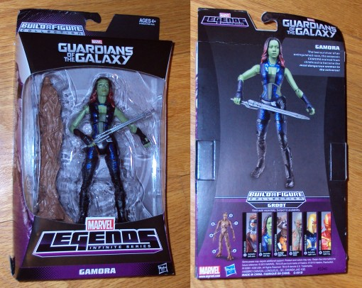 Marvel Legends Infinite Series Guardians of the Galaxy Movie Gamora Figure