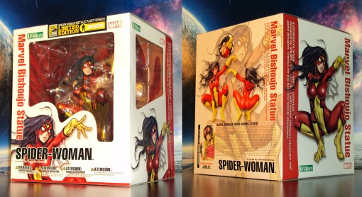Kotobukiya SDCC Metallic Marvel Bishoujo Spider-Woman 01