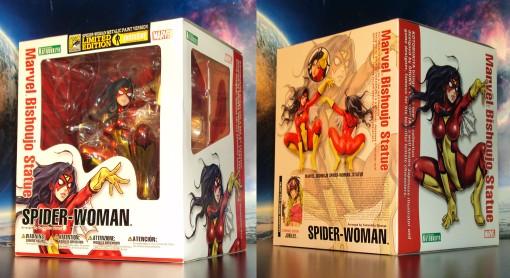 Kotobukiya SDCC Metallic Marvel Bishoujo Spider-Woman 01