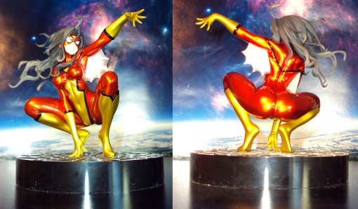 Kotobukiya SDCC Metallic Marvel Bishoujo Spider-Woman 02