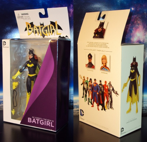 DC Collectibles Batgirl New 52 Action Figure 01