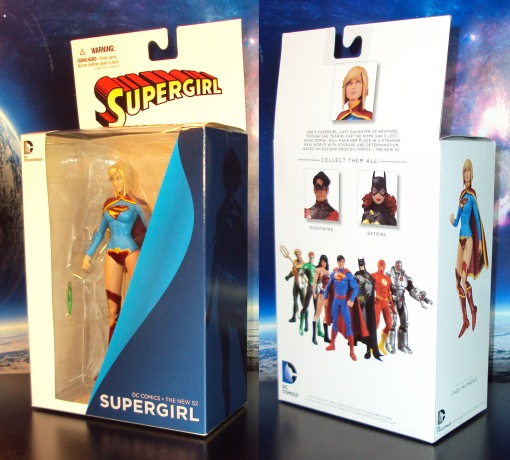 DC Collectibles Supergirl New 52 Version Action Figure 01