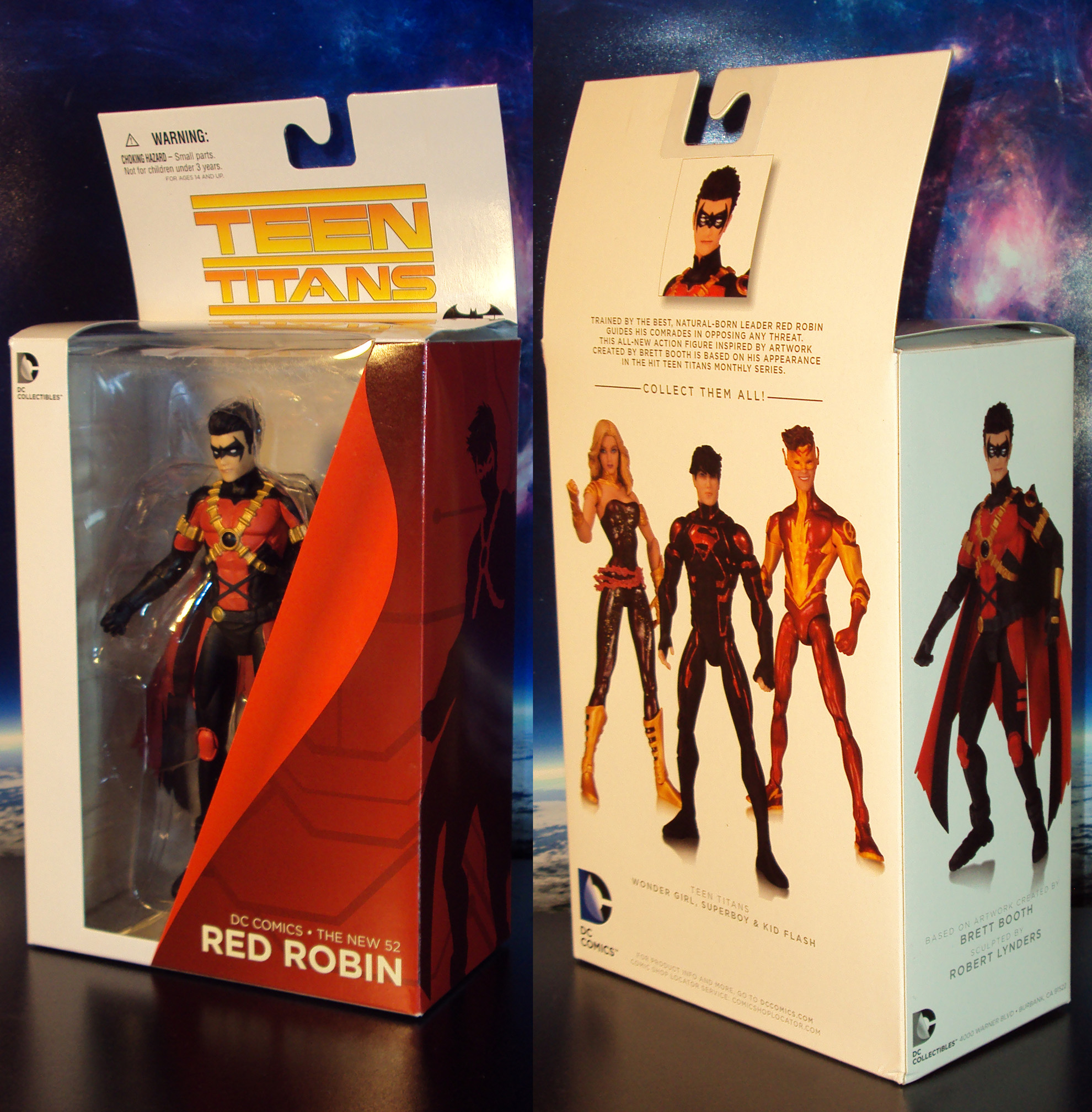 R353 Dc Collectibles Teen Titans Red Robin New 52 Action -4412