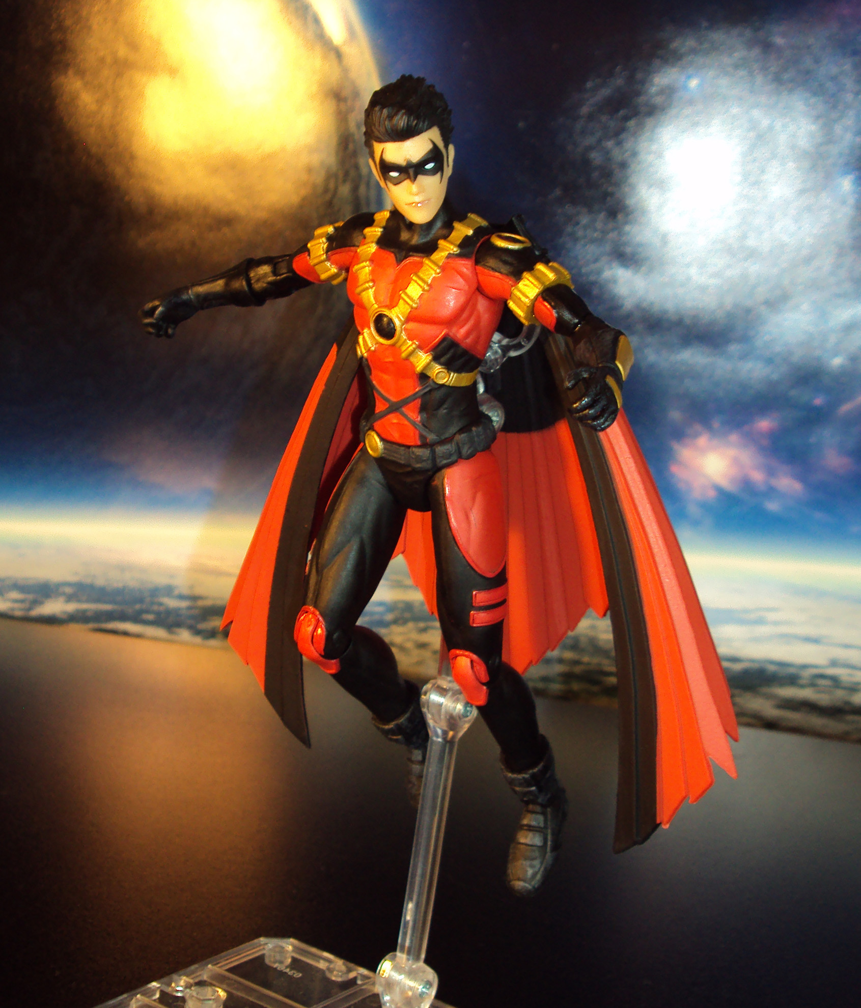 R353 Dc Collectibles Teen Titans Red Robin New 52 Action -9360