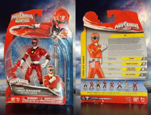 Red Turbo Ranger Super Megaforce Bandai 01