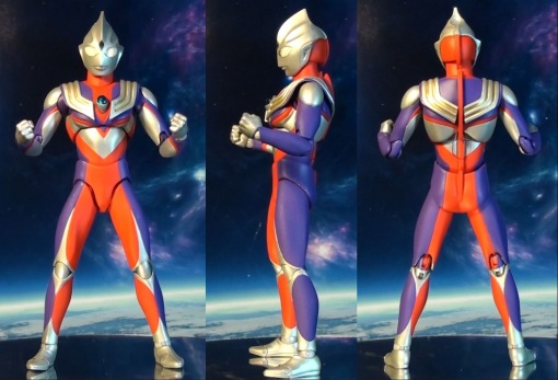 Ulra-Act Ultraman Tiga Multi Type Renewal 00