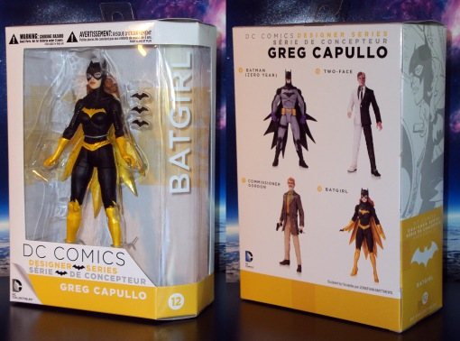 DC Collectibles Designer Series Greg Capullo Batgirl 01