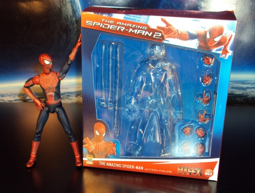 Medicom MAFEX Amazing Spider-Man 2 Movie Action Figure 0