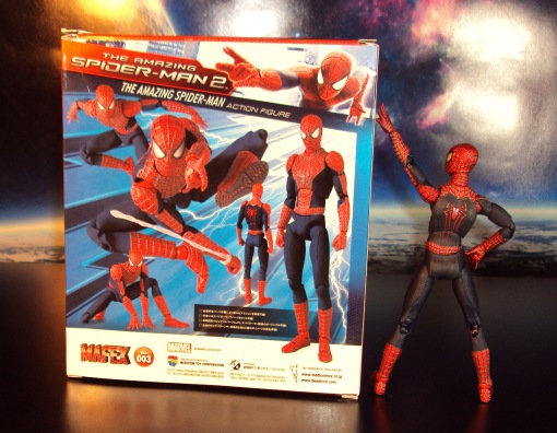 Medicom MAFEX Amazing Spider-Man 2 Movie Action Figure 00