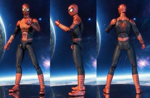 Medicom MAFEX Amazing Spider-Man 2 Movie Action Figure 01